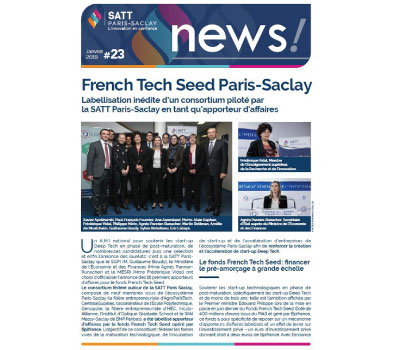 Newsletter SATT Paris-Saclay